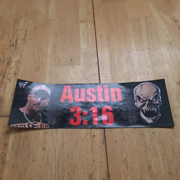 Other - Austin 3:16 bumper decal